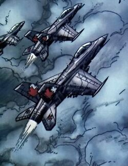 Royal Canadian Air Force (Earth-616) - Omega Flight Vol 1 1