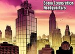 Stane Corporation Headquarters from Ultimate Iron Man Vol 1 1 001