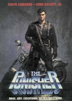 The Punisher (1989 film) Poster 002