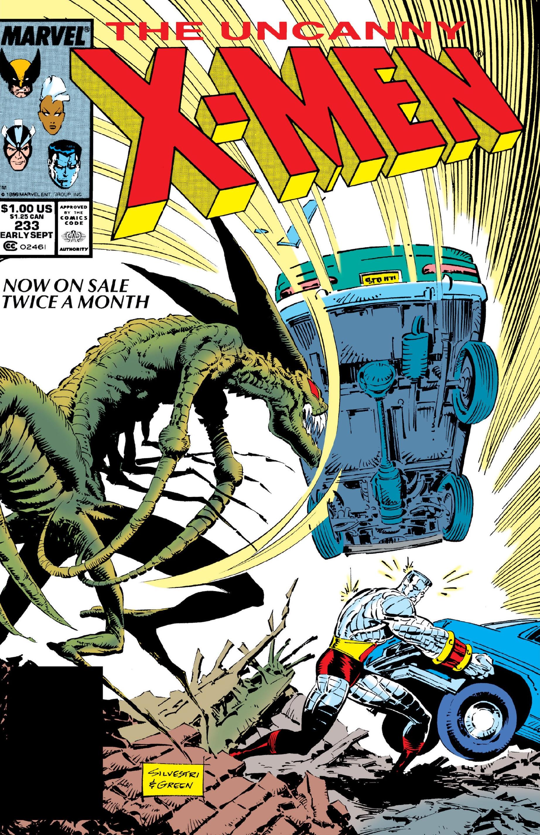 Uncanny X-Men Vol 1 233