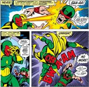 Vision (Earth-616) and Simon Williams (Earth-616) from Avengers Vol 1 158 001