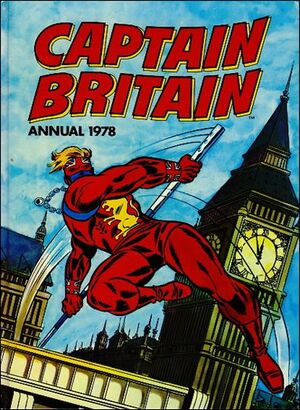 Captain Britain Annual Vol 1 1
