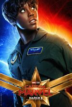 Captain Marvel (film) poster 011