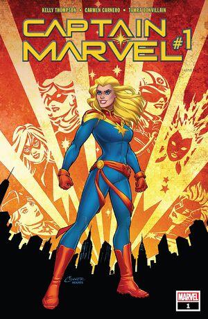 Captain Marvel Vol 10 1