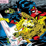 Jessica Drew (Earth-616) (Earth-616) from Avengers Annual Vol 1 10 001