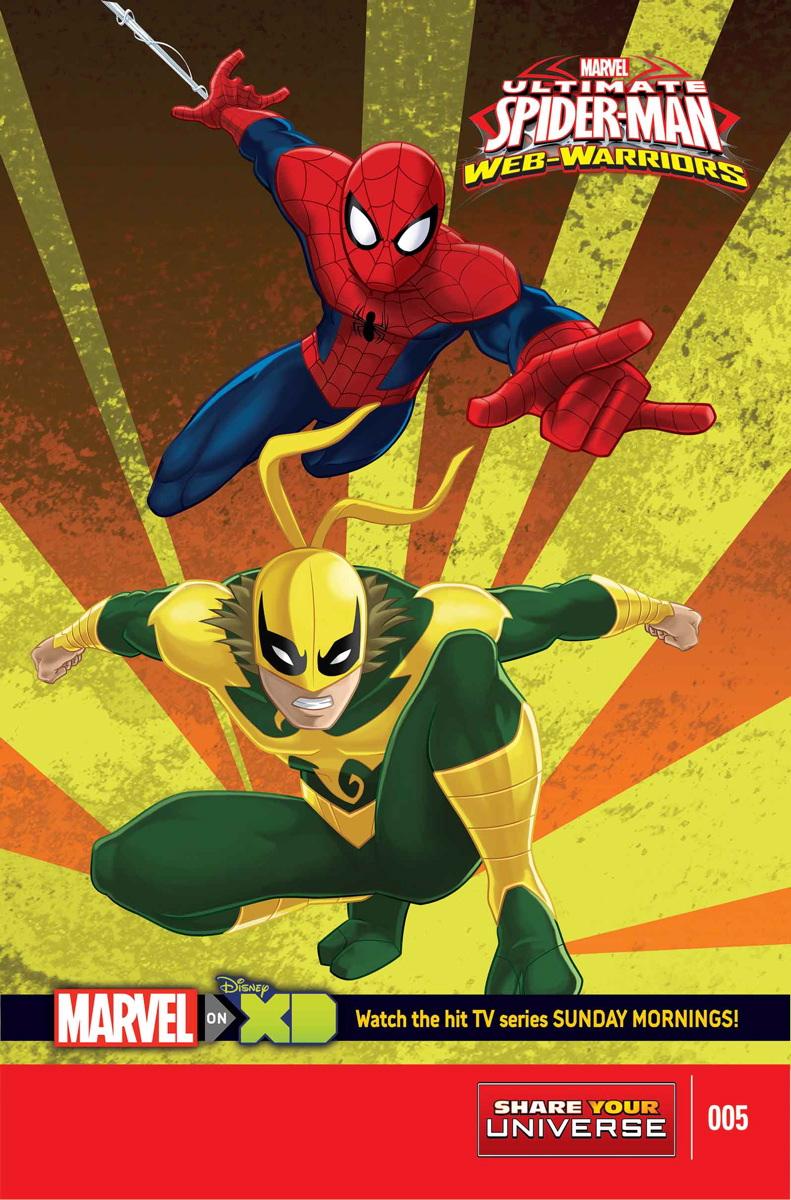 Marvel Universe Ultimate Spider-Man: Web Warriors Vol 1 5 | Marvel ...