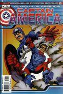 Marvels Comics Captain America Vol 1 1