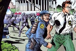 Metropolitan Police Department of the District of Columbia (Earth-616) from Captain America Vol 1 444 001
