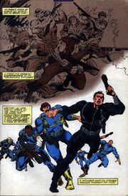 Nick Fury and the Howling Commandos become agents of SHIELD from Fury Vol 1 1