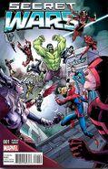 Secret Wars Vol 1 1 Superhero Stuff Variant