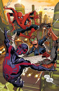 Spider-Army (Multiverse) from Spider-Man 2099 Vol 2 6 001