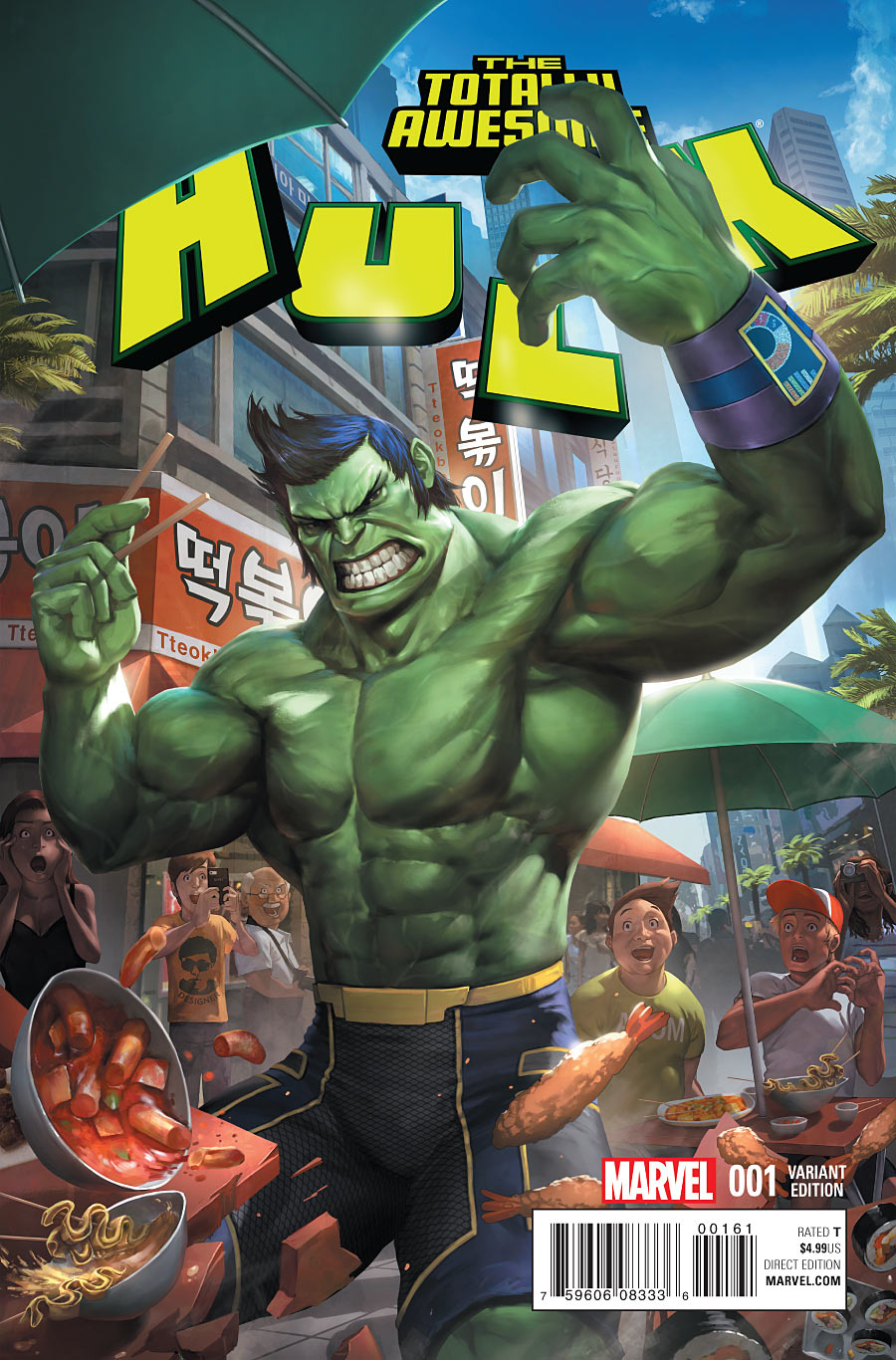 Image totally awesome hulk vol 1 1 cheol variantg marvel totally awesome hulk vol 1 1 cheol variantg publicscrutiny Images