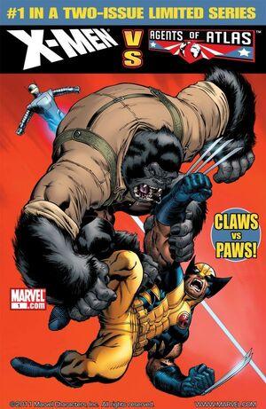 X-Men vs Agents of Atlas Vol 1 1