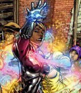 Xavin (Earth-616) and Karolina Dean (Earth-616) from Runaways Vol 2 30 001