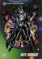 Animus (Hate-Monger) (Earth-616) from Marvel Universe Cards Series III 0001