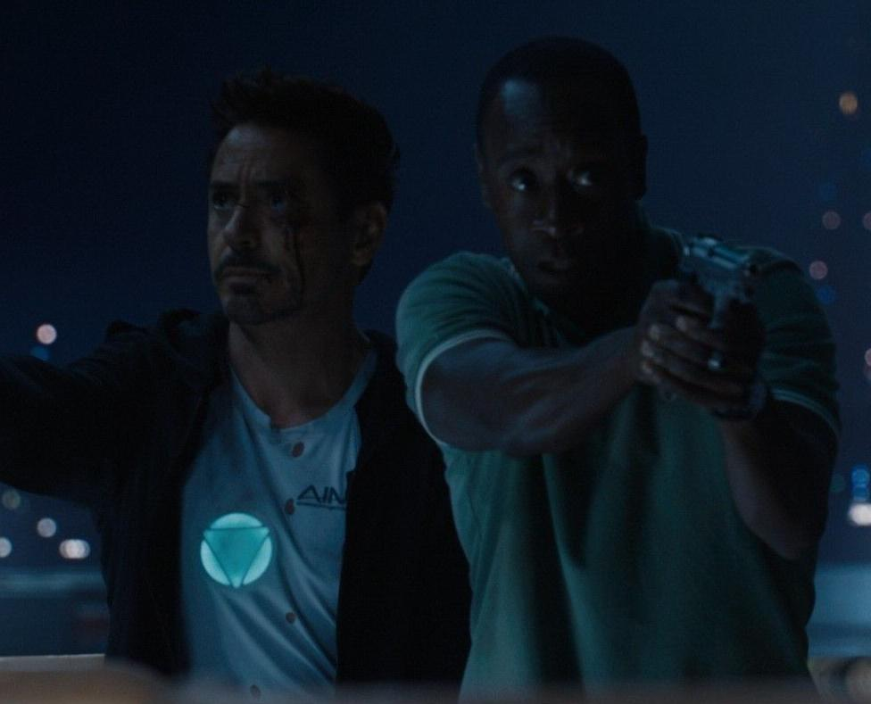 Anthony Stark (Earth-199999) and James Rhodes (Earth-199999) from Iron Man 3 (film) 004