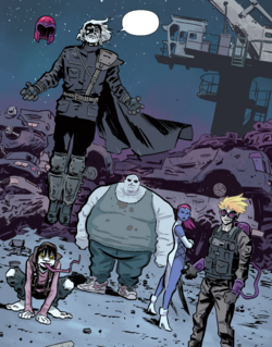 Brotherhood of Evil Mutants (Earth-TRN656) from X-Men Worst X-Man Ever Vol 1 3 001