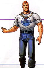 Charles Moss (Earth-616) from Official Handbook of the Marvel Universe Mystic Arcana The Book of Marvel Magic Vol 1 1 0001