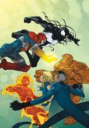 Dark Reign Fantastic Four Vol 1 5 Textless