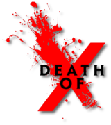 Death of X (2016) logo
