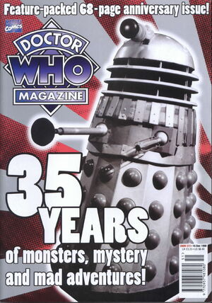 Doctor Who Magazine Vol 1 272