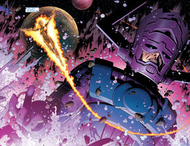Galan (Earth-616) and Frankie Raye (Earth-616) from New Avengers Vol 1 40 001