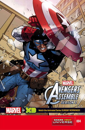Marvel Universe Avengers Assemble Season Two Vol 1 4