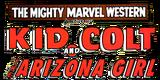 Marvel Westerns Kid Colt and the Arizona Girl (2006) Logo