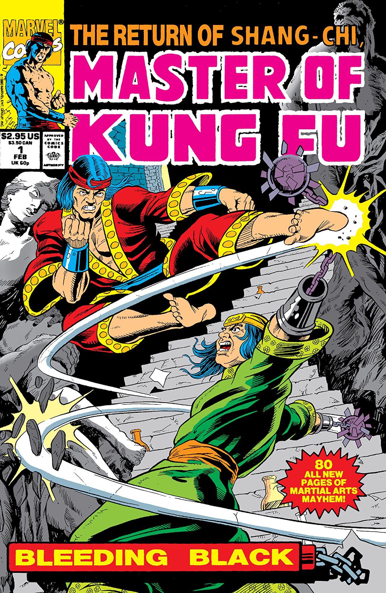 The Return of Shang Chi - Master of Kung Fu: Bleeding Black (1990)