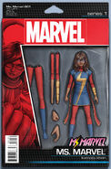 Ms. Marvel Vol 4 1 Action Figure Variant