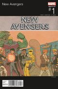 New Avengers Vol 4 1 Hip-Hop Variant