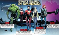 Starjammers (Earth-616) from Mr. and Mrs. X Vol 1 4 001