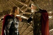 Thor Odinson (Earth-199999) and Odin Borson (Earth-199999) from Thor (film) 001