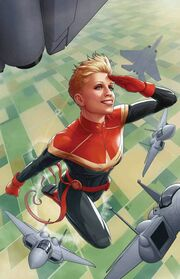 Thor Vol 5 3 Carol Danvers 50th Anniversary Variant Textless
