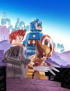 Uncanny Avengers Vol 1 12 LEGO Variant Textless