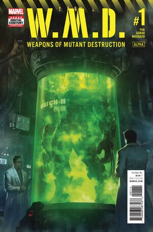 Weapons of Mutant Destruction Alpha Vol 1 1