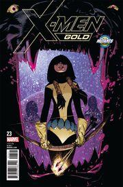 X-Men Gold Vol 2 23 New Mutants Variant