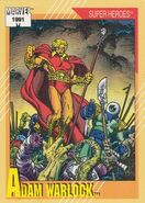 Adam Warlock (Earth-616) from Marvel Universe Cards Series II 0001