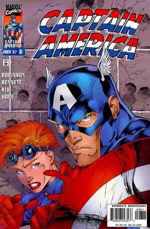 Captain America Vol 2 8