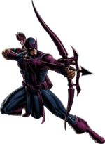 Clinton Barton (Earth-12131) from Marvel Avengers Alliance 003