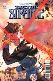 Doctor Strange Vol 4 19 ResurrXion Variant