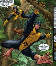 Henry McCoy (Earth-616) version 2.0 costume from X-Men First Class Vol 1 2