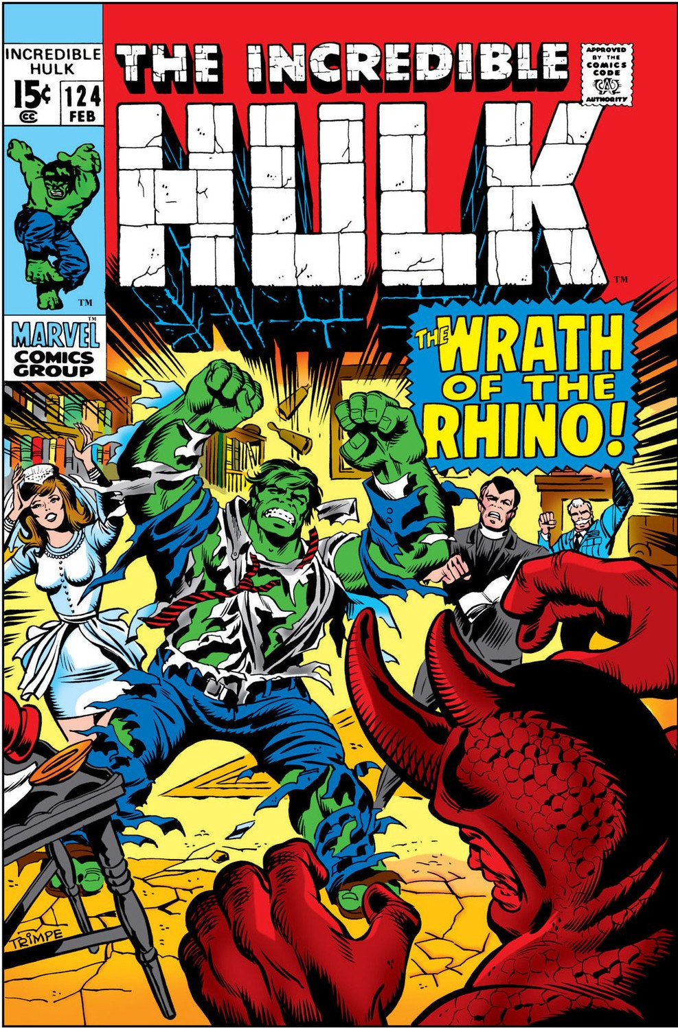 Incredible Hulk Vol 1 124