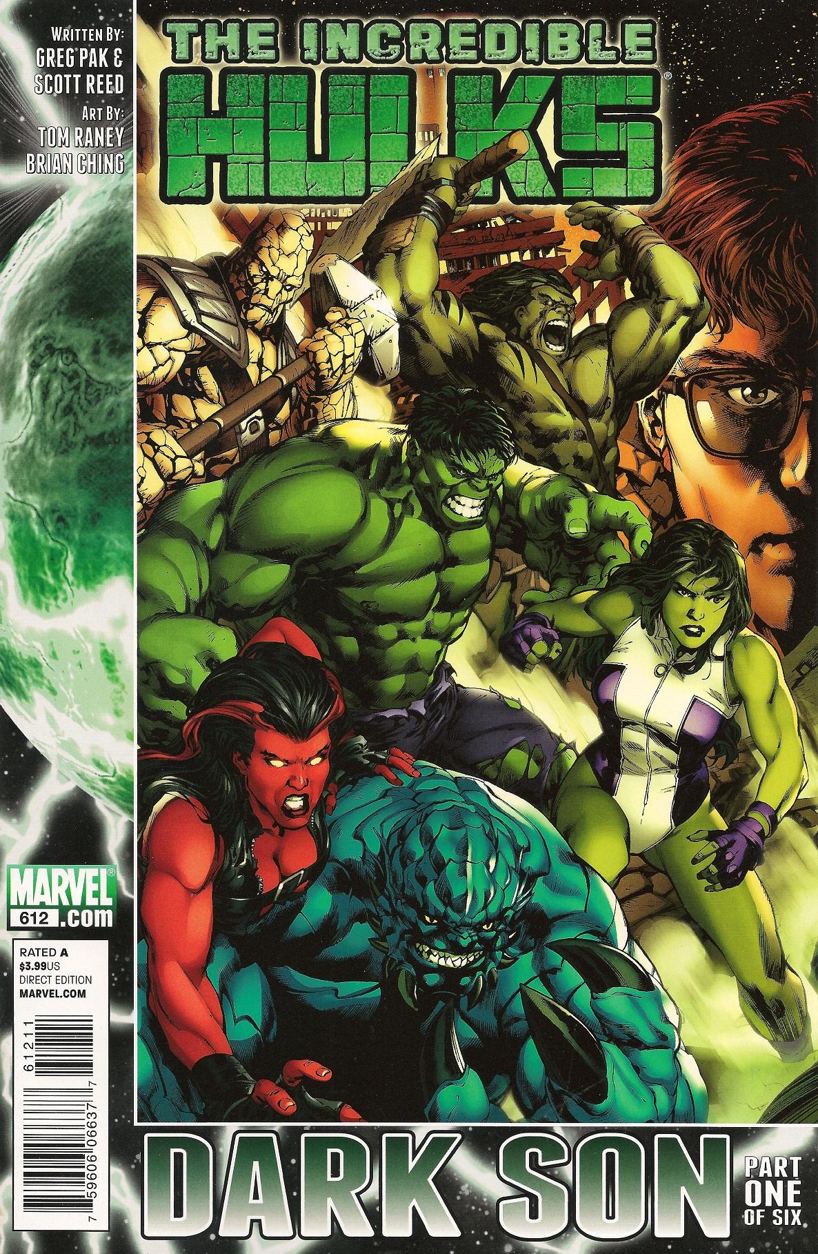 Incredible Hulks Vol 1 612