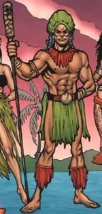 Kāne (Earth-616) from Thor & Hercules Encyclopaedia Mythologica Vol 1 1 0001
