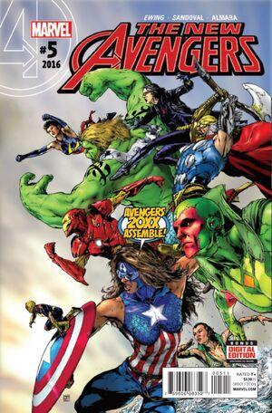 New Avengers Vol 4 5