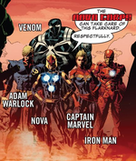 Nova Corps (Earth-71535) from Guardians of Knowhere Vol 1 3 001