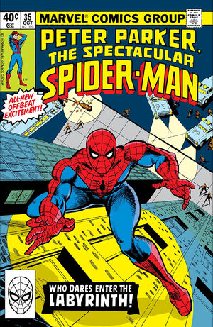 Peter Parker, The Spectacular Spider-Man Vol 1 35