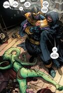 Thanos (Earth-616) and Death (Earth-616) from Thanos Rising Vol 1 3 001
