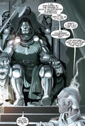 Victor von Doom (Earth-616) and Stan Lee (Earth-616) from Stan Lee Meets Doctor Doom Vol 1 1 001